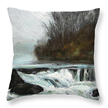 Moonlit Serenity Throw Pillow
