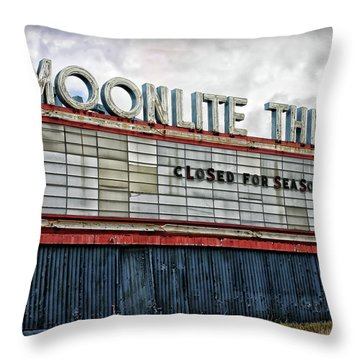 Moonlite Theatre Throw Pillow