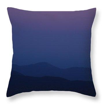Moonrise - Mount Washington New Hampshire  Throw Pillow by Erin Paul Donovan