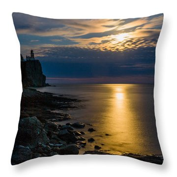 Moonrise From The Cloudbank Throw Pillow