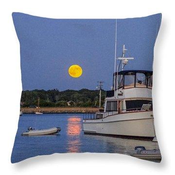 Moonrise Vineyard Haven Throw Pillow