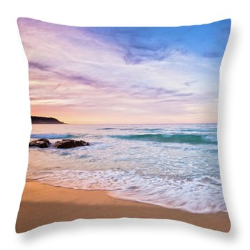 Bunker Bay Sunset, Margaret River Throw Pillow by Dave Catley