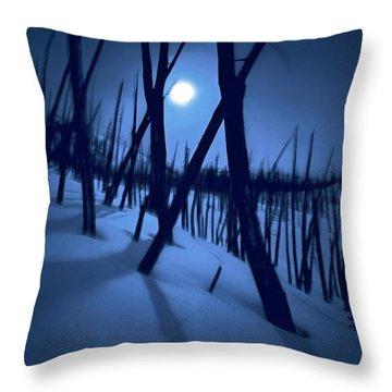 Moonshadows Throw Pillow
