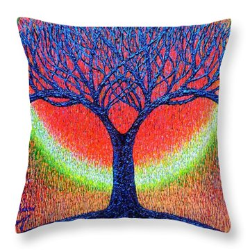 moonshine-2/God-is light/ Throw Pillow