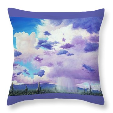 Moonsoon Beauty Throw Pillow