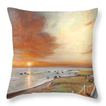 Moonstone Cambria Sunset Throw Pillow