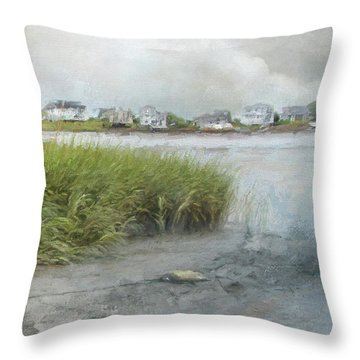 Mooring Line Throw Pillow