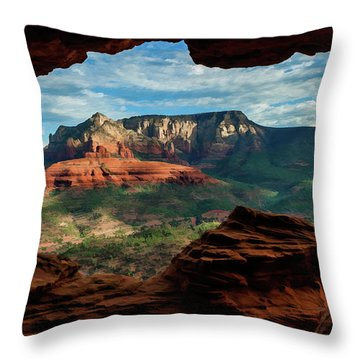 Moose Ridge 06-056 Throw Pillow by Scott McAllister