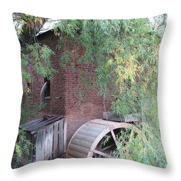 Mora Mill Throw Pillow