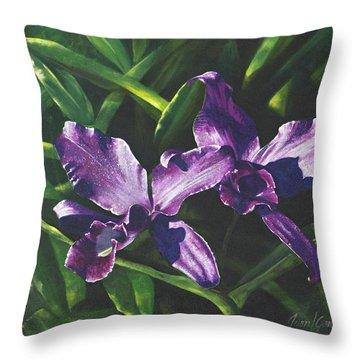 Morada Morning Throw Pillow
