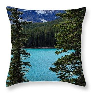 Moraine Lake 3 Throw Pillow