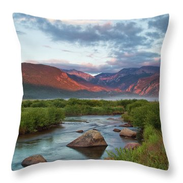 Moraine Park Glow Throw Pillow