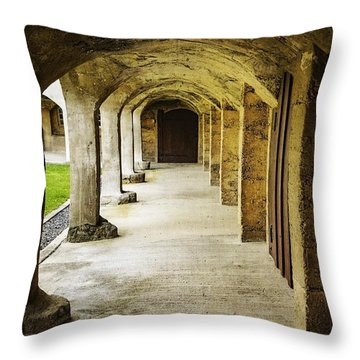Moravian Pottery And Tile Works Throw Pillow
