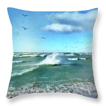 More Beautiful Than Yesterday Throw Pillow