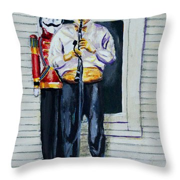 More Cajun Music Throw Pillow