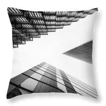 More London Throw Pillow