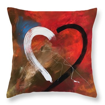 More Love Throw Pillow
