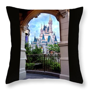 Throw Pillow featuring the photograph More Magic by Greg Fortier