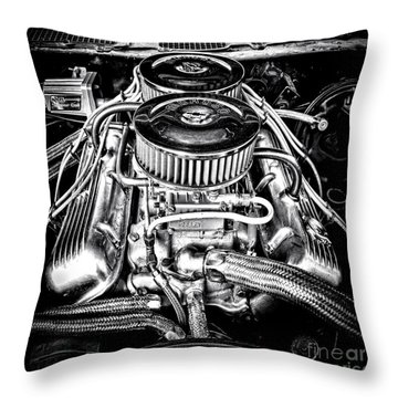 More Power Throw Pillow