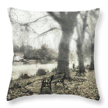 More Than A Bit Arty Throw Pillow