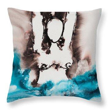 More Than Series No. 2050 Throw Pillow by Ilisa Millermoon