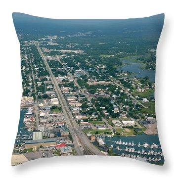 Morehead City Throw Pillow
