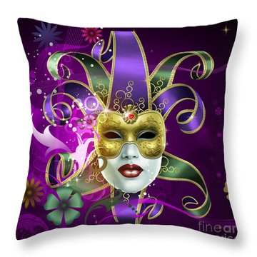 Moreno Incognito Throw Pillow