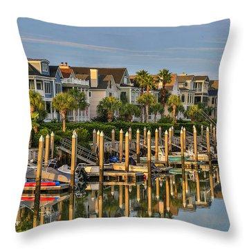 Morgan Place Homes In Wild Dunes Resort Throw Pillow