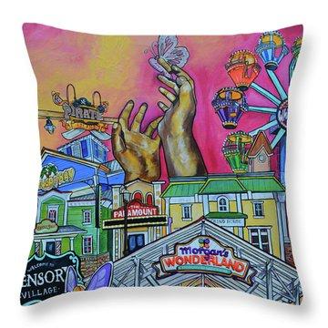 Morgans Wonderland Throw Pillow by Patti Schermerhorn