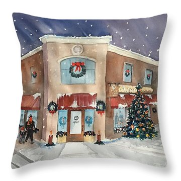 Morkes Christmas 2017 Throw Pillow