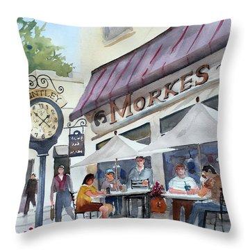 Morkes Spring Throw Pillow