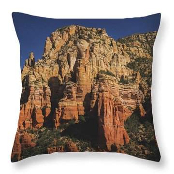 Mormon Canyon Details Throw Pillow
