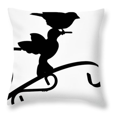 Morning Adventures Throw Pillow