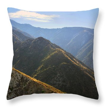 Morning Air Throw Pillow