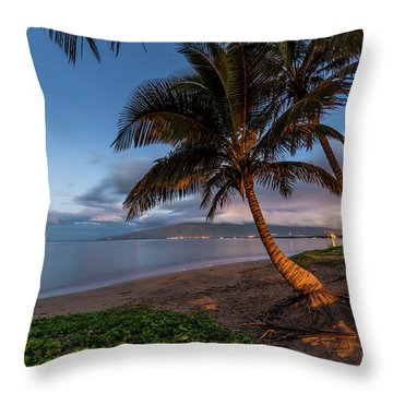 Throw Pillow featuring the photograph Morning Aloha by Pierre Leclerc Photography
