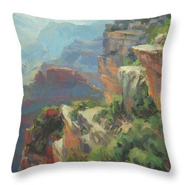 Morning At Hopi Point Throw Pillow