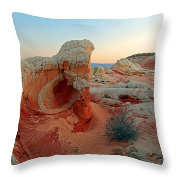 Morning At White Pocket. Throw Pillow by Johnny Adolphson