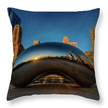 Morning Bean Throw Pillow