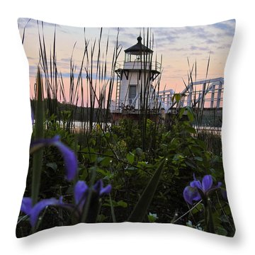 Morning Beauties Throw Pillow