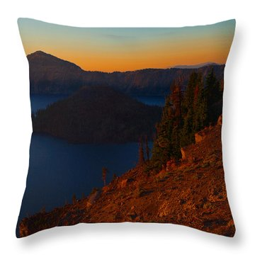 Throw Pillow featuring the photograph Morning Blush by Laura Ragland