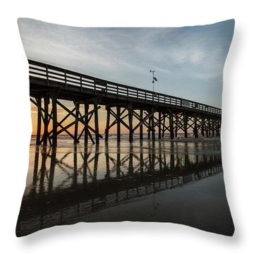 Morning Breaks Throw Pillow