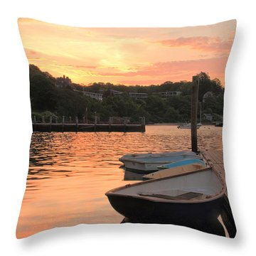 Morning Calm Throw Pillow