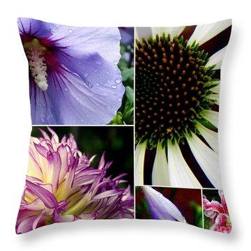 Morning Delight Throw Pillow by Priscilla Richardson