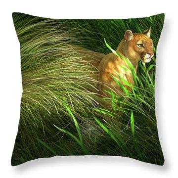 Everglades Throw Pillows