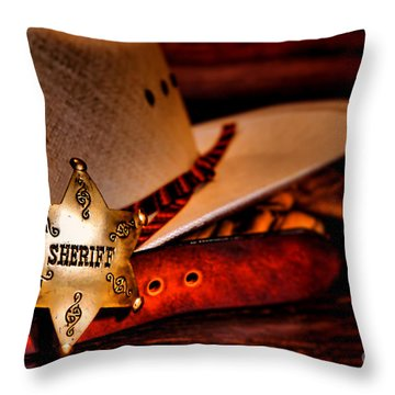 Morning Duty Throw Pillow