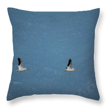 Morning Flight Throw Pillow