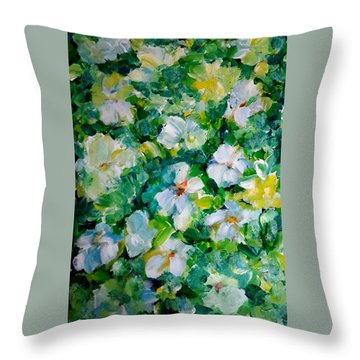 Morning Fresh Throw Pillow