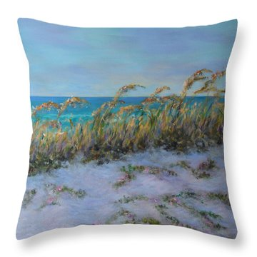 Morning Glory Dune Part 2 Throw Pillow