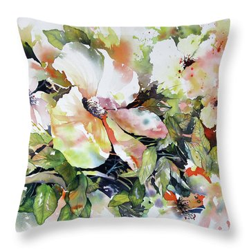 Morning Glow 2 Throw Pillow by Rae Andrews
