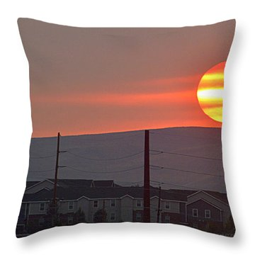 Morning Has Broken Throw Pillow by AJ Schibig
